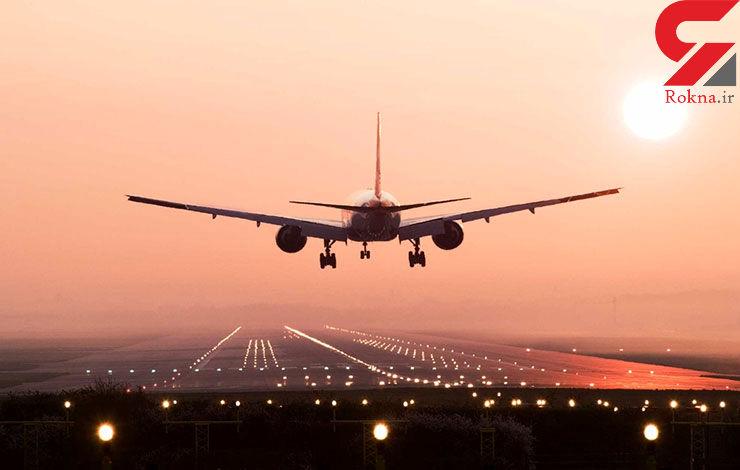 هواپیمای مسافربری 4 بار مجبور به فرود اضطراری در مهرآباد شد