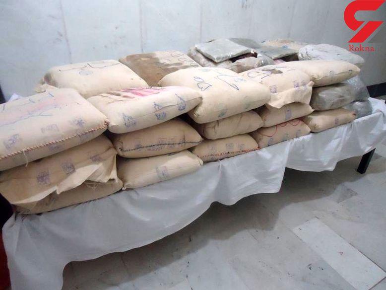 کشف نیم تن انواع مواد مخدر در عملیات پلیس کرمان
