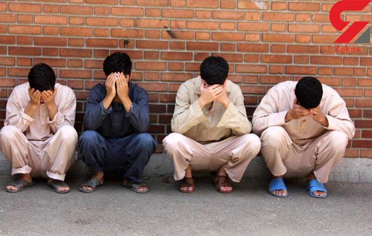 دستگیری چهار عامل نزاع و در گیری در اراک