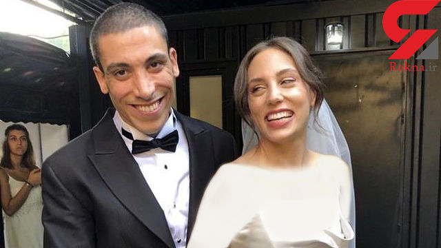 ازدواج خانم بازیگر معروف ترکیه ای با یک خواننده + عکس
