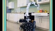 ساخت ربات سرآشپز+عکس
