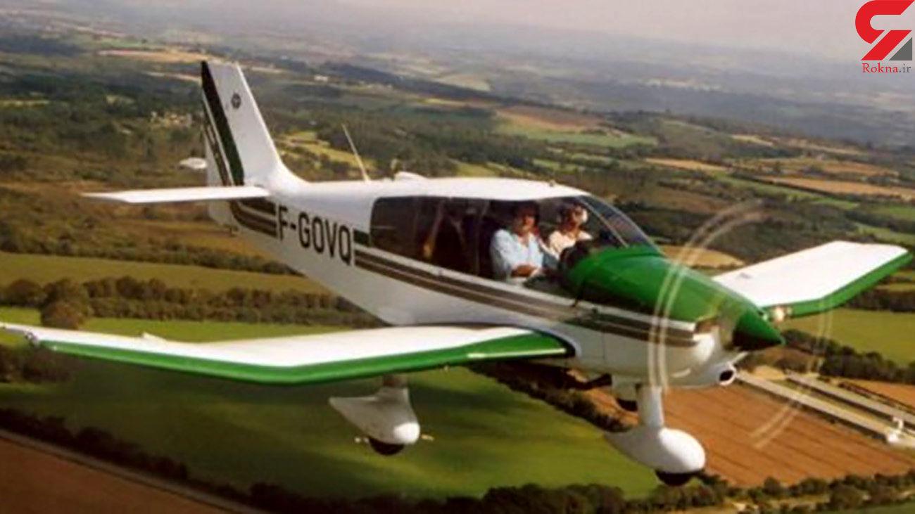 فیلم فرود اضطراری هواپیما در جاده بجنورد + عکس