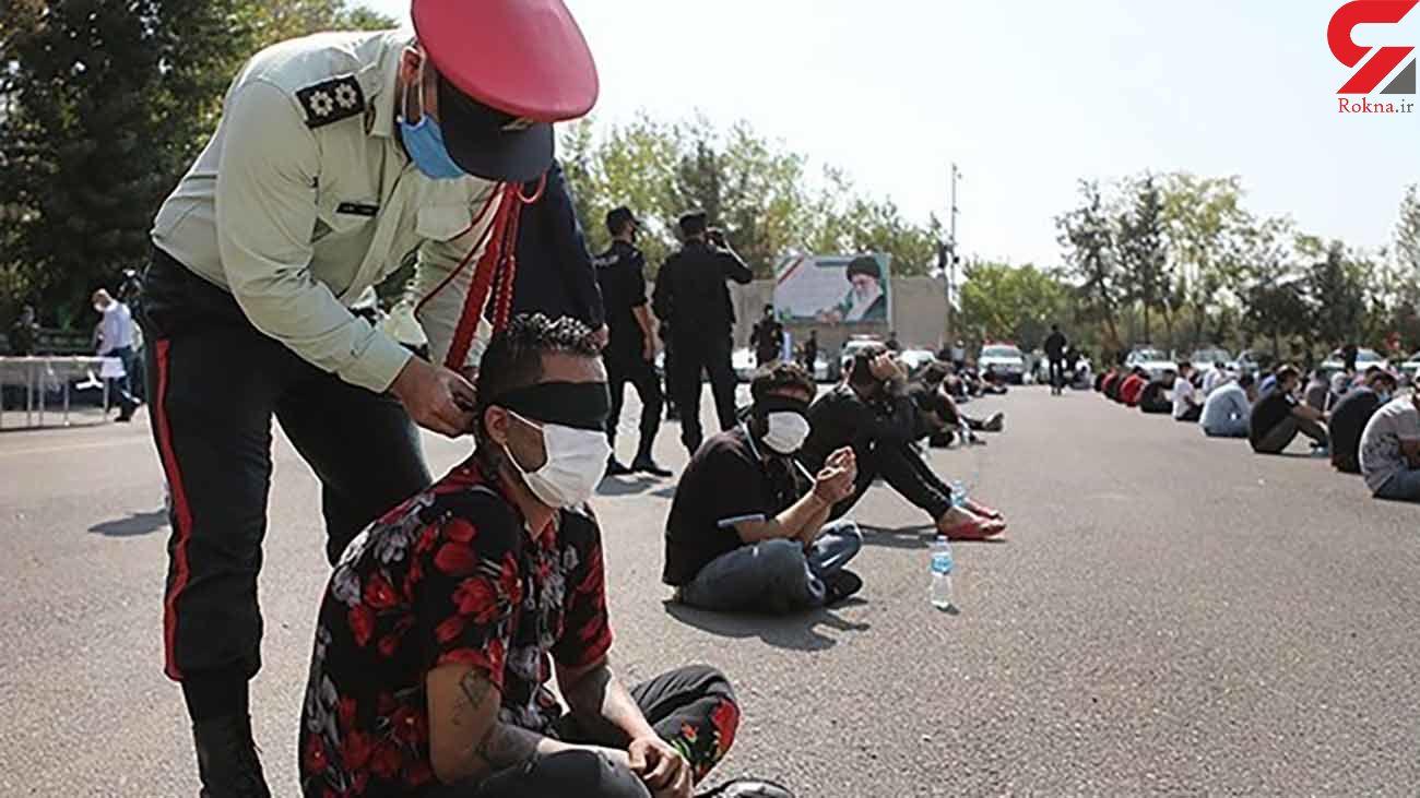 شبیخون پلیس به 320 تبهکار تهران / قمارخانه ها تعطیل شد