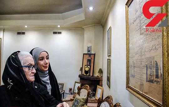 ملکه رنجبر: بعد از مصاحبه و گله مندی همکاران قدیمی ام به دیدنم آمدند+عکس