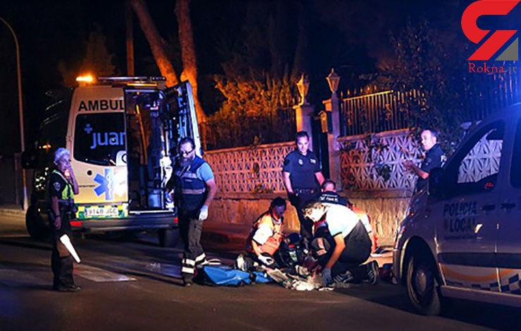 یک پدر به خاطر شباهت به تبهکار معروف به گلوله بسته شد+عکس