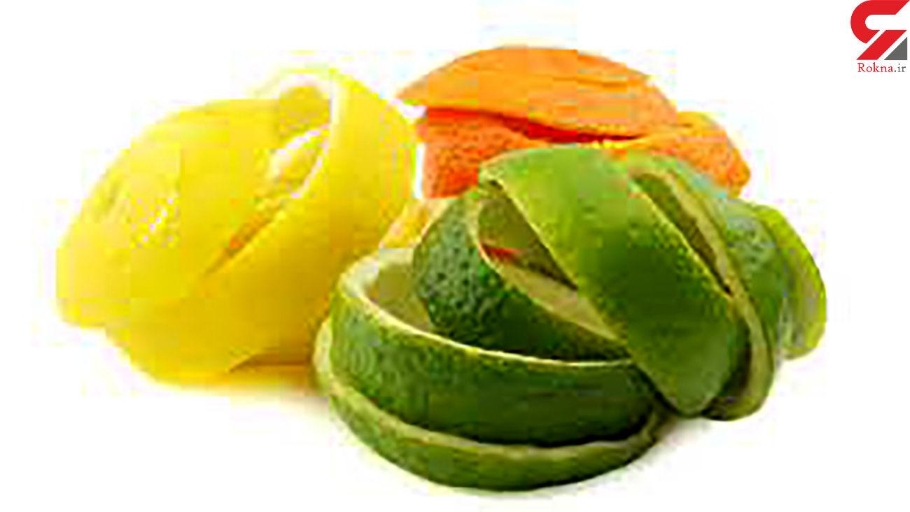 پوست میوهها را نخورید !