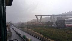 بلندترین پل ایتالیا به خاطر یک ترک بسته شد