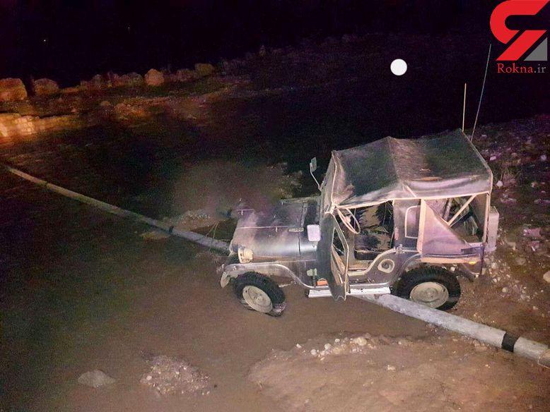 سیل در اندیکا خوزستان یک قربانی گرفت