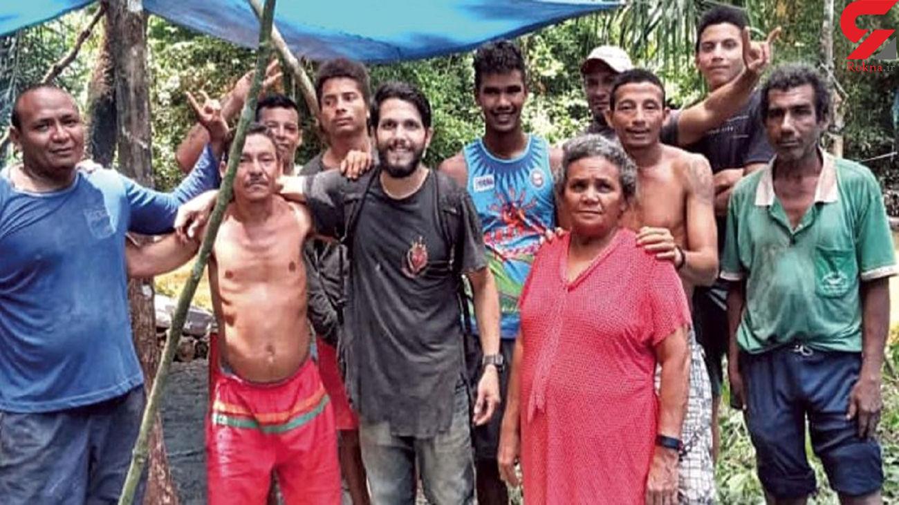 خلبانی که 36 روز در جنگل آمازون سرگردان بود! + جزئیات و عکس