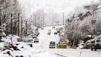بارش برف و باران در کشور تا 30 بهمن