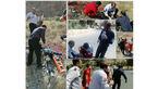 سقوط 3 کوهنورد جوان از کوه صاحب الزمان کرمان + عکس