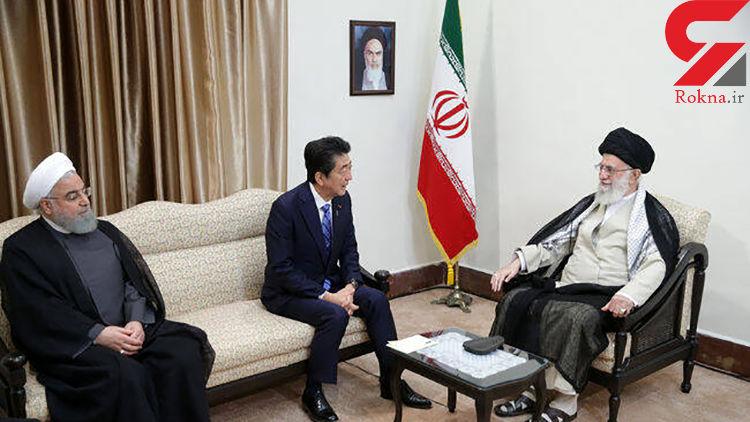 توکیو: دیدار آبه و رهبر معظم ایران در فضایی گرم برگزار شد