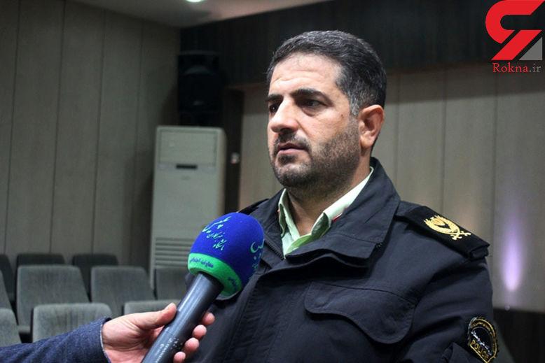 توقیف کامیون حامل سیگار قاچاق در عملیات مشترک پلیس قزوین و همدان
