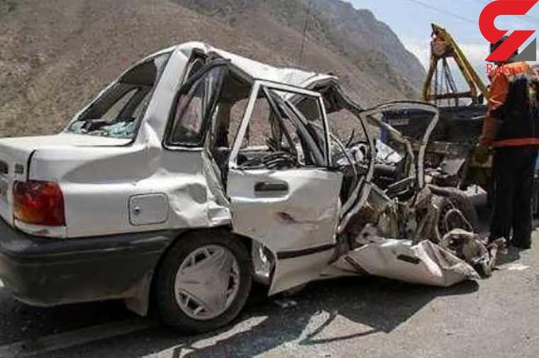 تصادف خونین در جاده شیراز / 9 نفر زخمی شدند