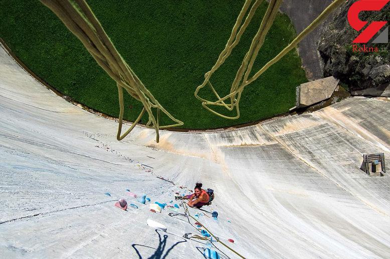 دیوارنوردی از بلندترین دیواره جهان