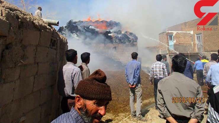 بچهها یک روستا را به آتش کشیدند!