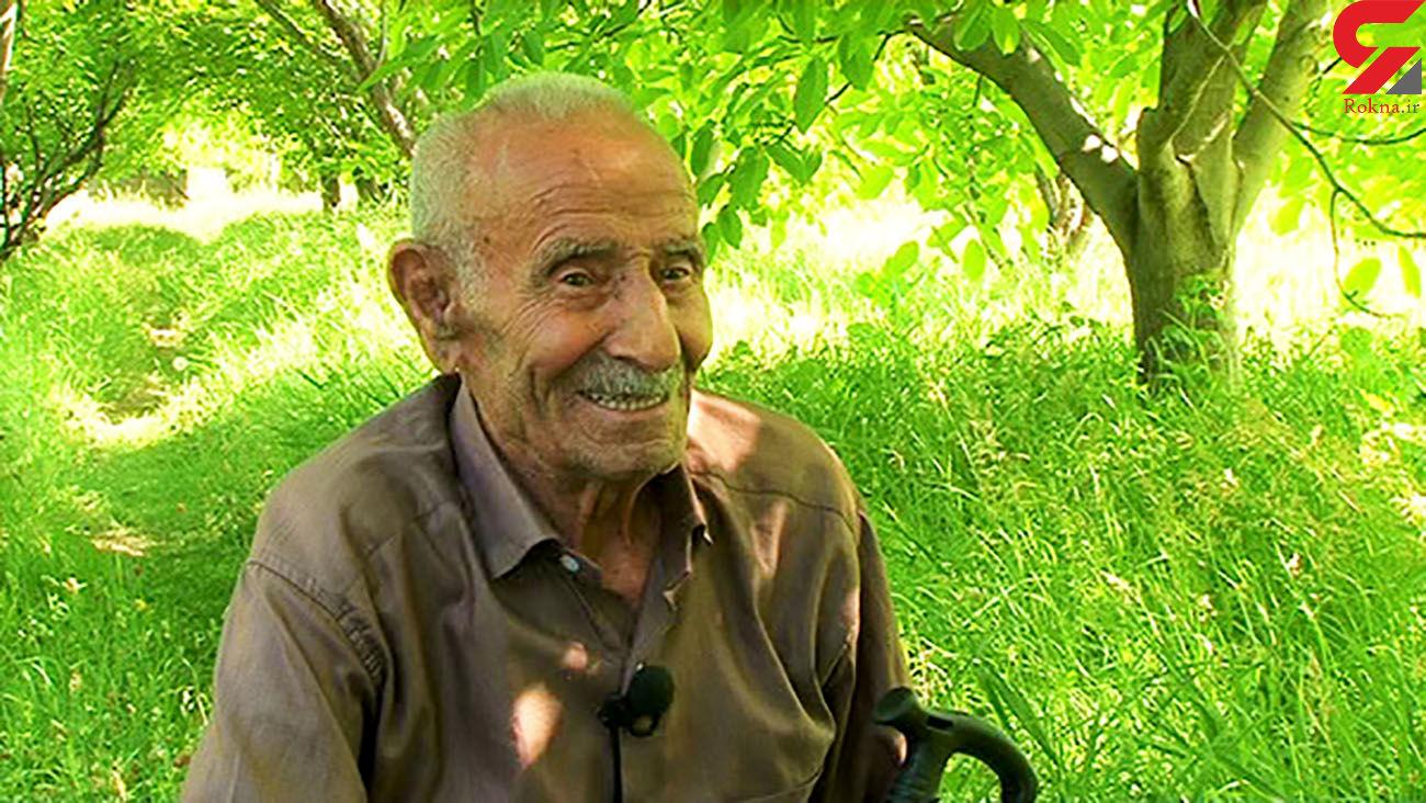 پیرترین مرد ایرانی با 75 نوه فوت کرد