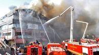 19 کشته در حادثه آتش سوزی در هند+عکس