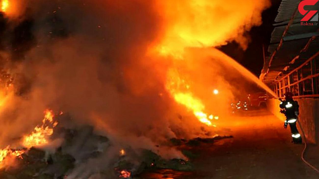 انفجار هولناک در صنایع شیمیایی نارگستر سپاهان / 9 نفر راهی بیمارستان شدند