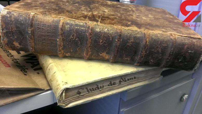 کشف کتابهای مسروقه 400 ساله در کالیفرنیا