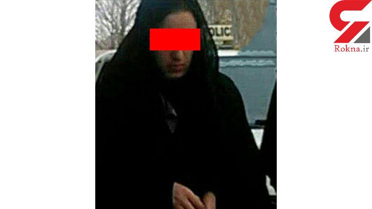 فیلم فرار زن اسیدپاش در آرایشگاه نهاوند را ببینید + عکس قربانی و جزئیات پرونده