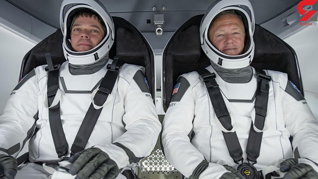 نخستین پرتاب سفینه فضایی خصوصی با دو سرنشین به مدار کره زمین+ عکس و فیلم