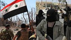 از انهدام مقر عناصر تروریستی تا هلاکت تکتیراندازان «داعش» توسط ارتش سوریه +نقشه میدانی