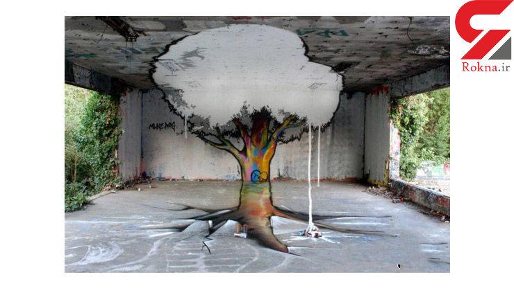 طراحی های خیرهکننده سهبعدی خیابانی +تصاویر