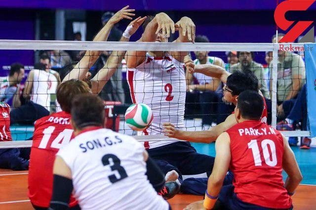 والیبال نشسته مردان ایران قهرمان شد