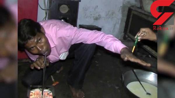 زندگی مرد الکتریکی با 11 هزار ولت برق +عکس