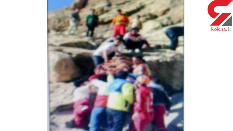 مرگ چترباز ۳۶ساله در ارتفاعات نیشابور+عکس