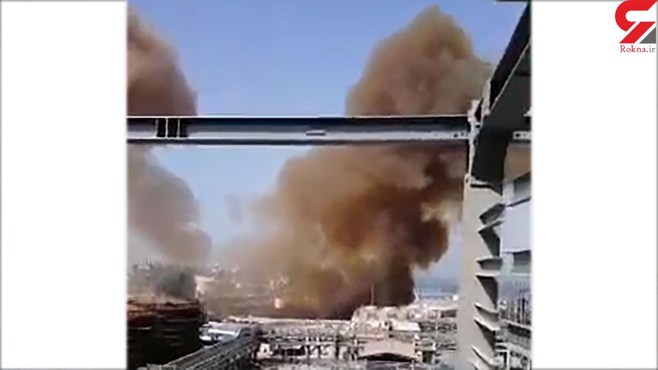 فیلم انفجار مرگبار خط لوله در عسلویه/ مرگ سوزناک 2 کارگر ایذه ای + عکس