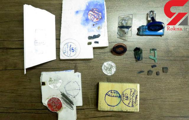 صادر کنندگان صیغه نامه جعلی در رشت به دام افتادند