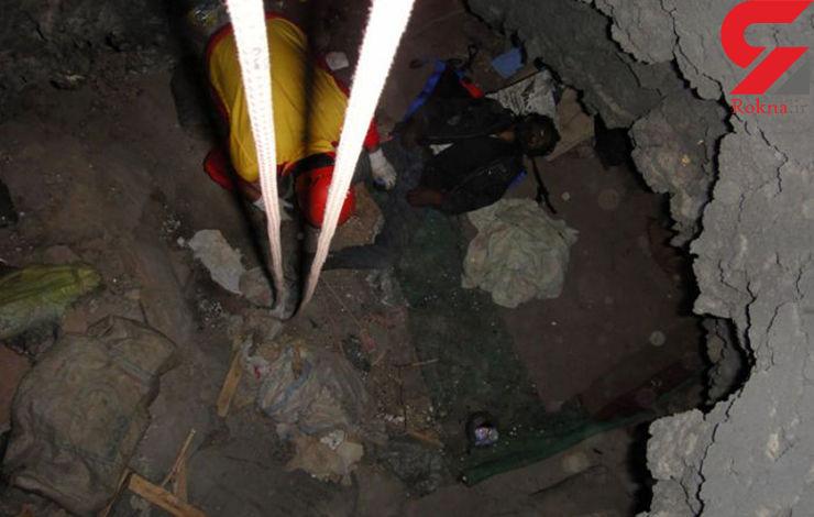 کشف جسد پوسیده جوان 24 ساله از یک چاه در رزن