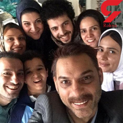 """سلفی پیمان معادی و عوامل فیلم """"ابد و یک روز"""""""