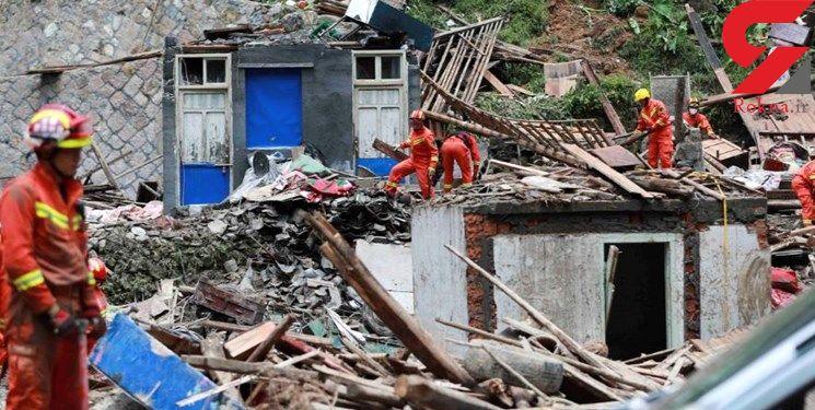آمار قربانیان چین به 44 نفر رسید+عکس