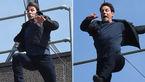 حادثه خطرناک برای بازیگر مشهور سینما هنگام فیلمبرداری +فیلم لحظه حادثه