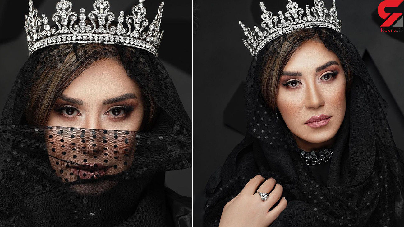 نسیم ادبی عروس سیاه پوش شد + عکس