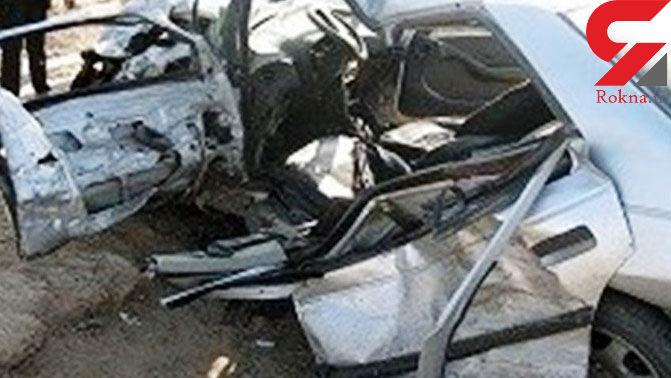 عدم توانایی راننده در کنترل وسیله نقلبه 2 نفر را به کام مرگ فرستاد