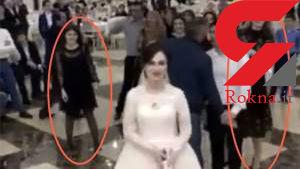 عکس / دعوای زشت دو دختر مجرد در مراسم عروسی دوست شان