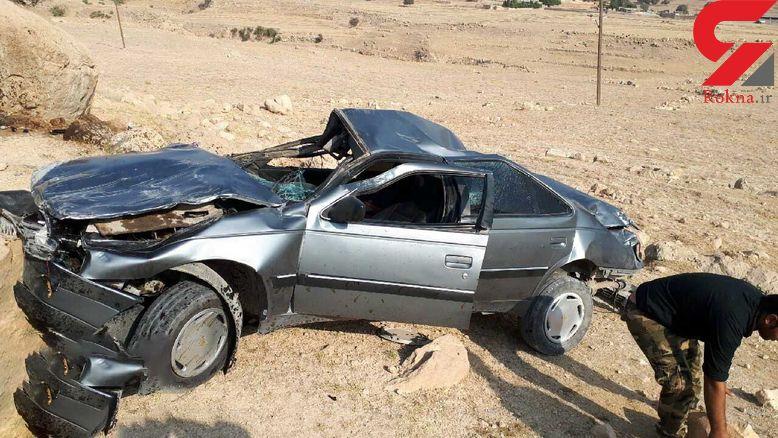 مرگ دردناک مرد 55 ساله در جاده ملایر
