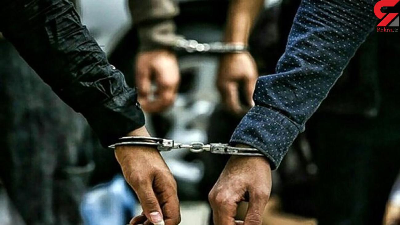 سرکرده باند اراذل و اوباش در ایلام دستگیر شد