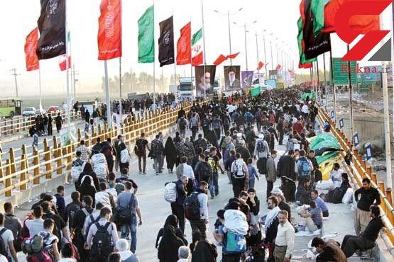 تردد بیش از 107 هزار نفر از مرز مهران از آغاز محرم