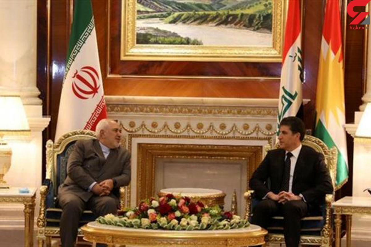 توئیت ظریف درباره سفر به اقلیم کردستان