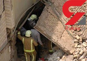 انفجار و ریزش آوار در منطقه پردیس اهواز/ ۵ نفر مصدوم شدند