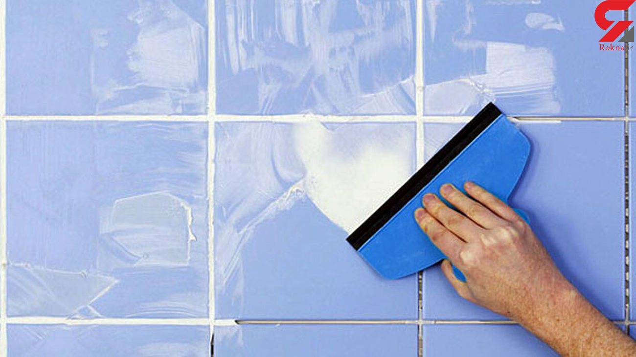 نحوه تمیز کردن کاشی و سرامیک خانه + فیلم
