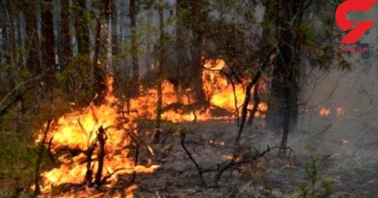 آتشسوزی گسترده در یونان