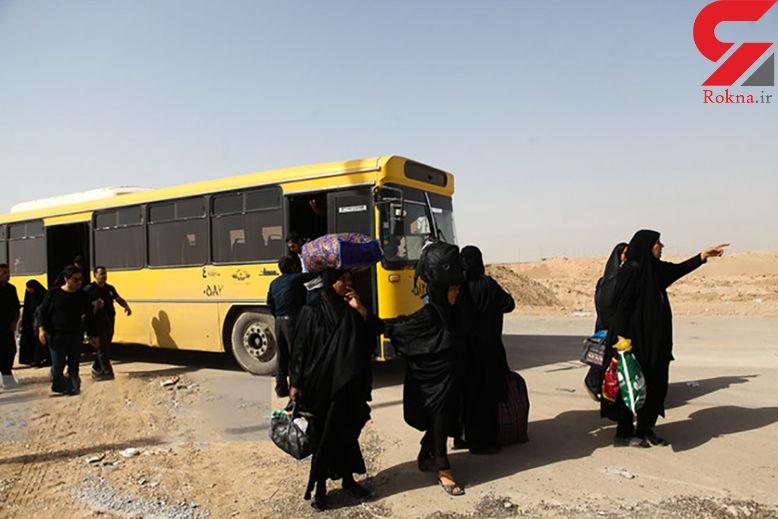 جا به جایی مسافران بین شهری توسط اتوبوس های زائران اربعین ممنوع!