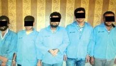 اعدام میثم و 5 مرد مخوف در مشهد + عکس