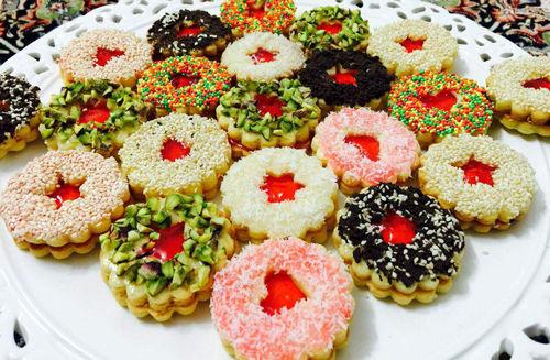 شیرینی کرهای خوشمزه+ دستور تهیه